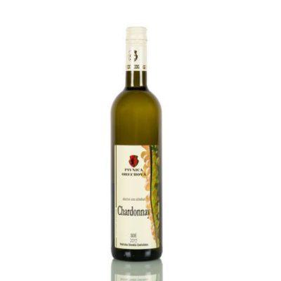 Akostné víno, Chardonnay, d.s.c, polosuché  NOVINKA
