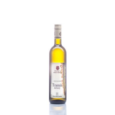 Akostné víno  Tramín červený,  suché