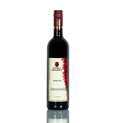 Akostné víno  Svätovavrinecké,  červené polosuché