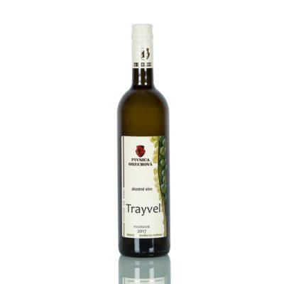 Akostné víno  Trayvel cuvée,  polosuché