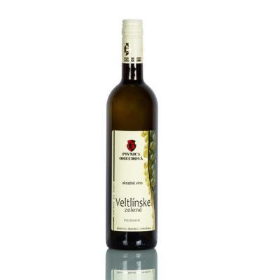 Akostné víno  Veltlínske zelené d.s.c.,  polosuché