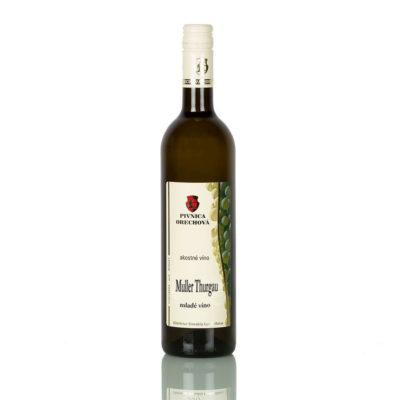Akostné víno  Muller Thurgau d.s.c, suché  NOVINKA